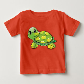 Tortuga Camiseta De Bebé