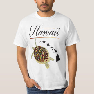 Tortuga de Hawaii Camisetas