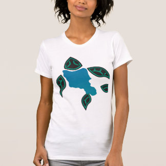 Tortuga de Hawaii e isla de Hawaii Oahu Camisetas