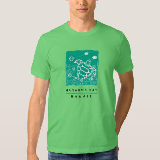 Tortuga de la bahía de Hanauma Camisetas