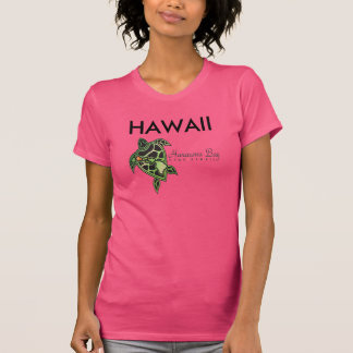Tortuga de la bahía de Hanauma de las islas de Camisetas
