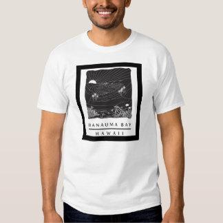 Tortuga de la bahía de Hawaii Hanauma Camiseta