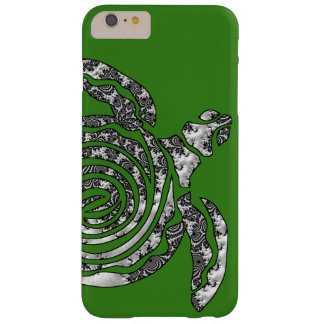 Tortuga de la fantasía 3 D Funda Barely There iPhone 6 Plus