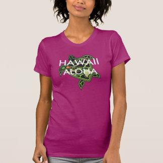 Tortuga de las islas de Hawaii de la hawaiana Camisetas