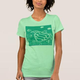 Tortuga de mar verde de Hawaii Camiseta