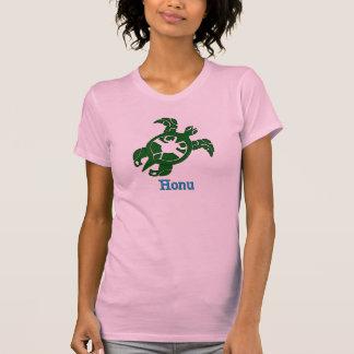 Tortuga de mar verde hawaiana camisetas