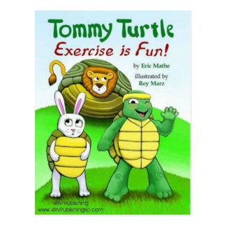 Tortuga de Tommy: ¡El ejercicio es diversión! Postal