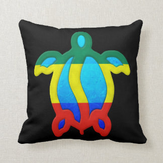 Tortuga jamaicana cojín decorativo