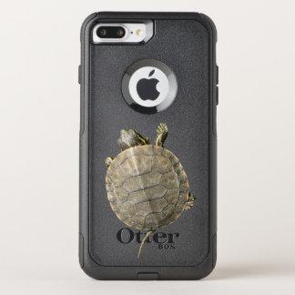 Tortuga minúscula (tortuga) funda commuter de OtterBox para iPhone 7 plus