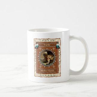 Tortuga - taza de café clásica de la tierra de