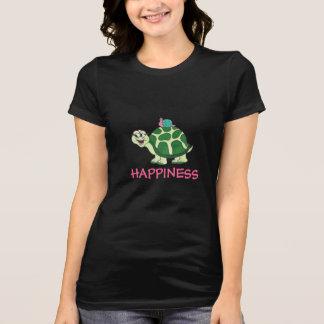Tortuga y caracol divertidos - camiseta de la FELI
