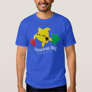 Tortugas de Hawaii de la bahía de Hanauma Camisas