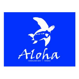 Tortugas de Hawaii de la hawaiana Postales