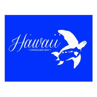 Tortugas de Hawaii de la hawaiana Tarjeta Postal