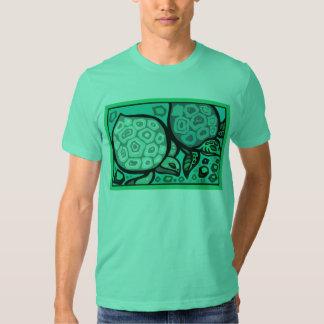 Tortugas de la aguamarina camisas