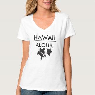 Tortugas de las islas de Hawaii de la hawaiana Camisetas