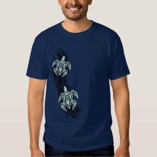 Tortugas tribales camisetas