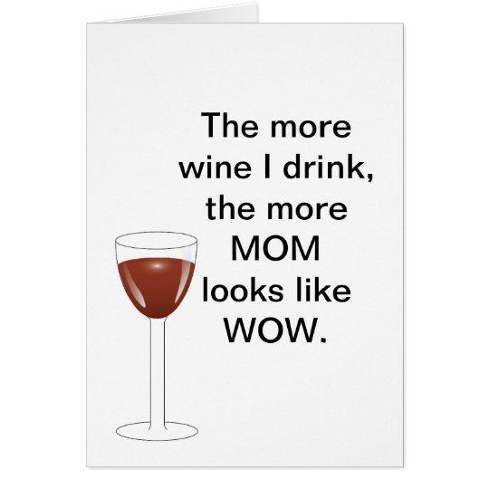 Tostada del día de madre tarjeta de felicitación