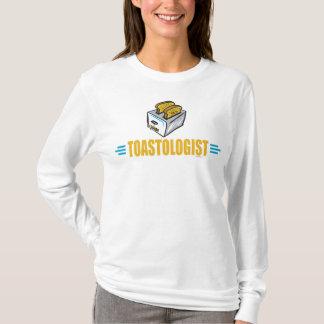Tostada divertida camiseta