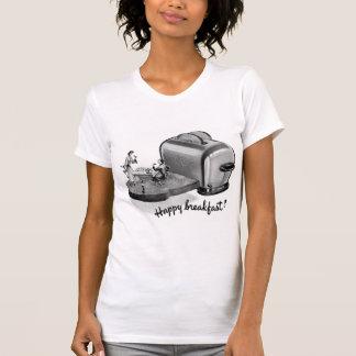Tostadora 'Breakfast feliz del desayuno del Camiseta