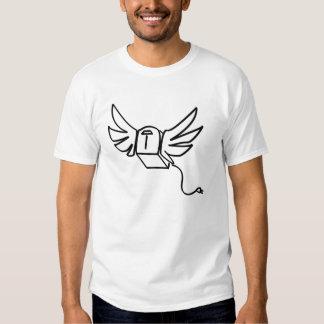 tostadora del vuelo camisetas
