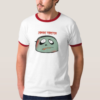 Tostadora del zombi camiseta