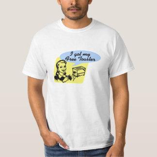 Tostadora libre camisetas