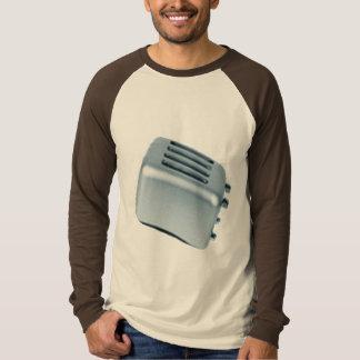 Tostadora retra - azul camiseta