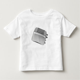 Tostadora retra - B&W gris claro Camiseta De Bebé