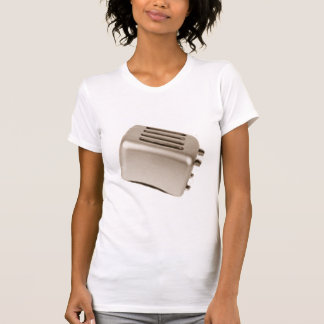 Tostadora retra - naranja camisetas