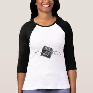 - Tostadora retra - negativa tostada de B&W Camiseta
