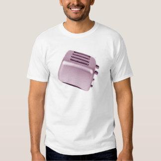 Tostadora retra - rosa camisetas