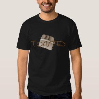 - Tostadora retra - sepia anaranjada tostada Camiseta