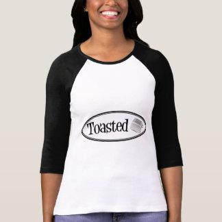 Tostadora retra TOSTADA - negro y blanco Camiseta