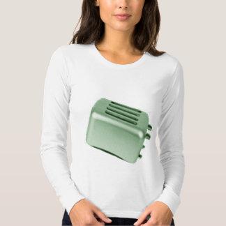 Tostadora retra - verde camisas