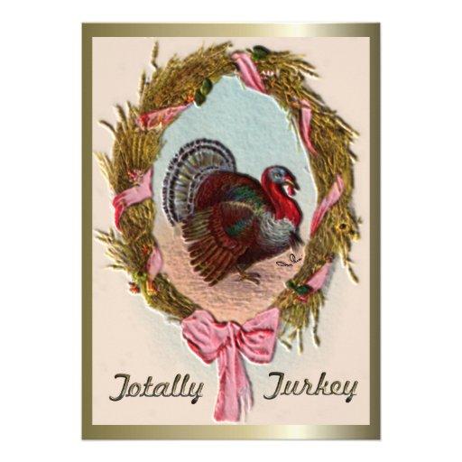 Totalmente Turquía Invitaciones Personalizada