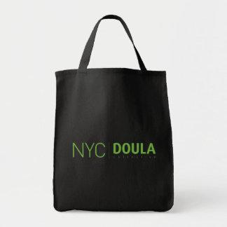 Tote colectivo del ultramarinos de NYC Doula Bolsa Tela Para La Compra