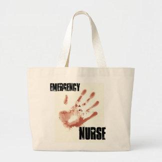 Tote de la enfermera de la emergencia bolsa tela grande