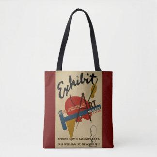 Tote de la galería de arte del objeto expuesto bolsa de tela