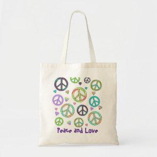 Tote de la paz y del amor