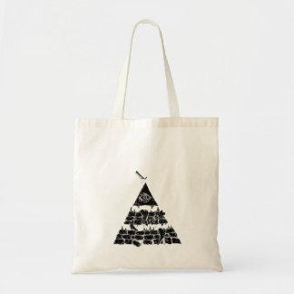 Tote del bolso de //de la pirámide