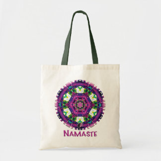 Tote del caleidoscopio de Violette Namaste Bolsa Tela Barata