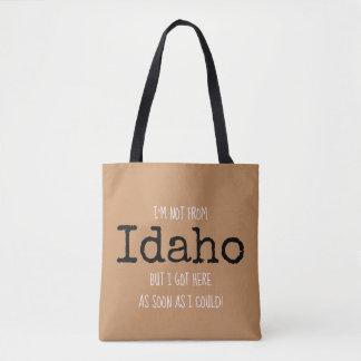 Tote del recuerdo del bolso del estado de Idaho