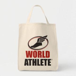 Tote del ultramarinos de Athlete® del mundo