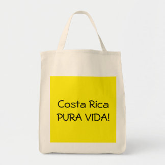 Tote del ultramarinos de Costa Rica Pura Vida