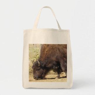 Tote del ultramarinos de la foto del bisonte