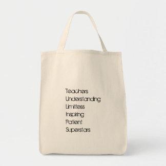 Tote del ultramarinos del profesor bolso de tela