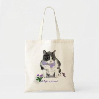 Tote:  Felix, el gatito, en el mes de mayo Bolso De Tela