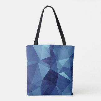 Tote geométrico bolso de tela