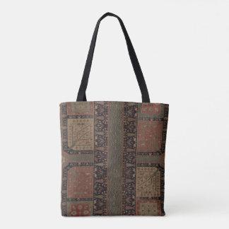 Tote kurdo de la alfombra del jardín bolso de tela